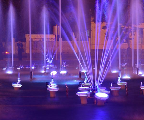 水景音樂噴泉工程案例
