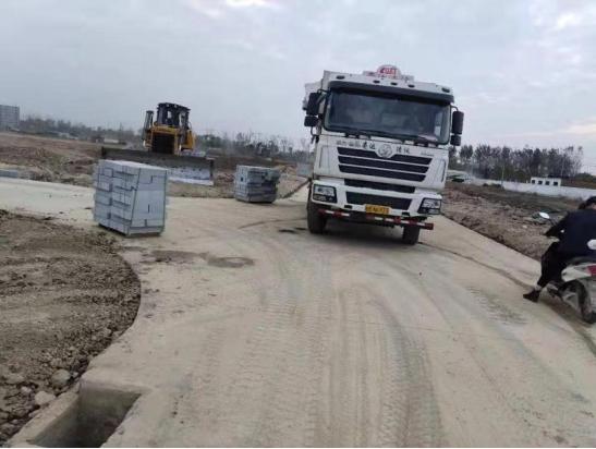 阜阳中洲蝴蝶兰培育基地内部道路排水工程项目