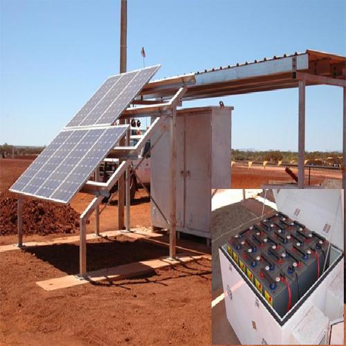 BE蓄电池矿业安装样例