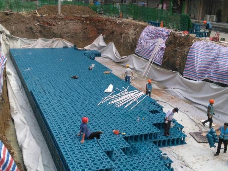 雨水收集管线预埋