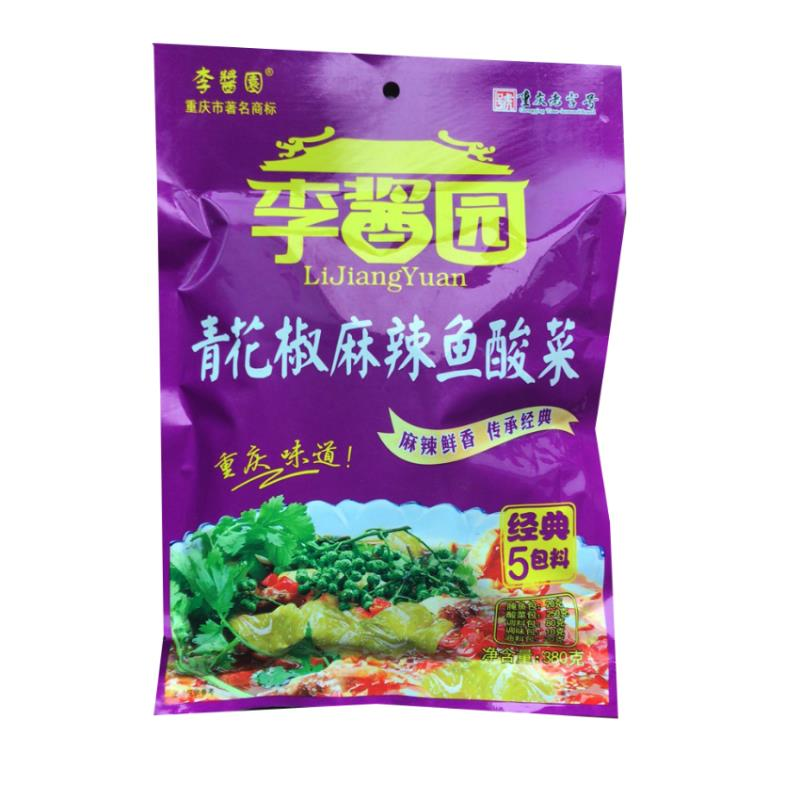 李醬園380g青花椒麻辣酸菜魚