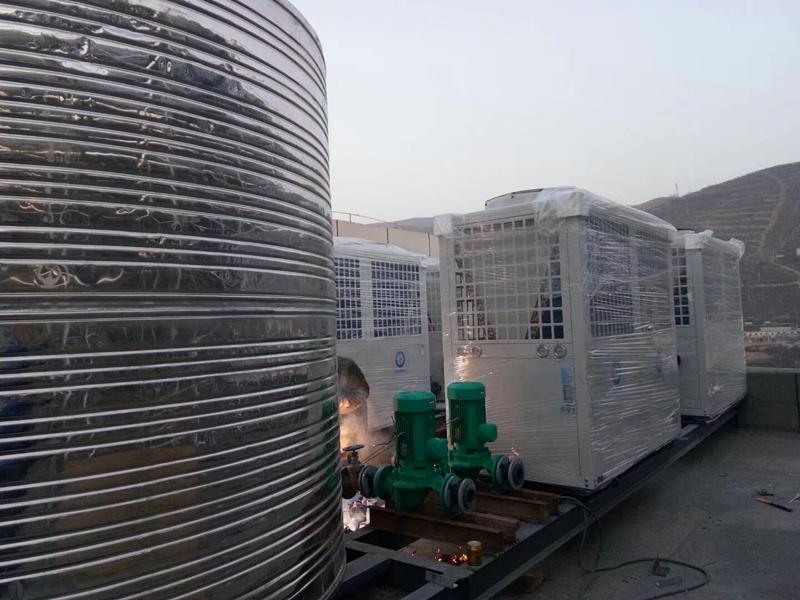 青海省云龙大酒店采暖热水工程