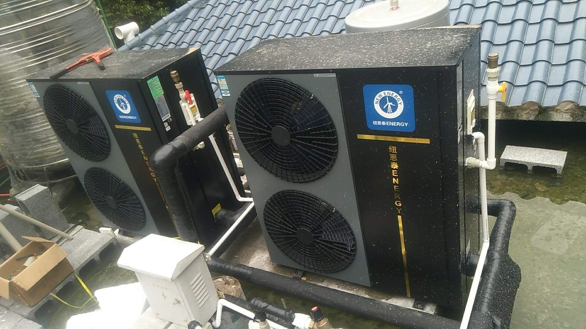 自建别墅中央空调、热水、净水项目