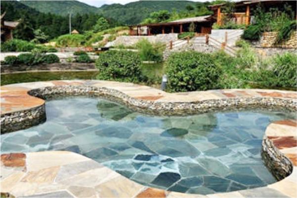 贵州都匀斗篷山温泉度假区空气能热泵工程