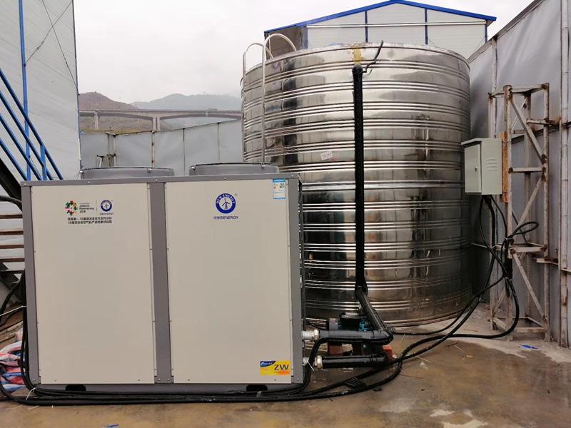 商务宾馆空气能热水工程
