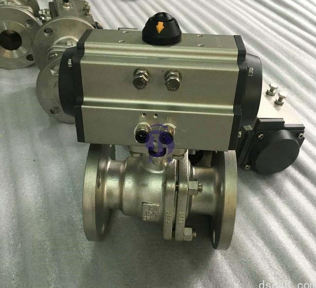 Q641F-150LB气动球阀