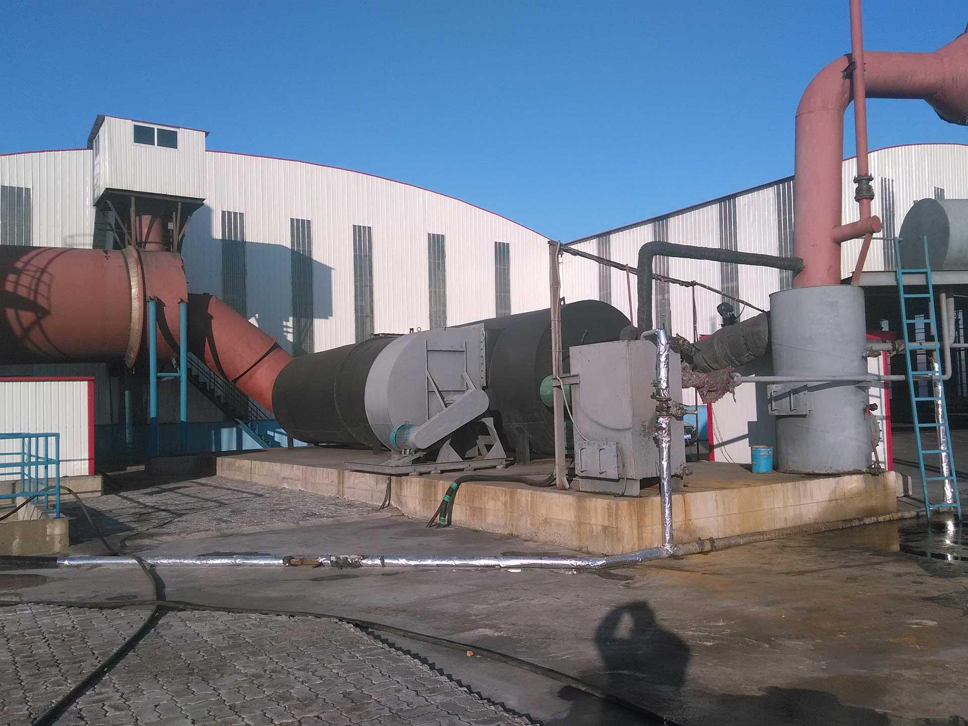 燃热煤气热风炉
