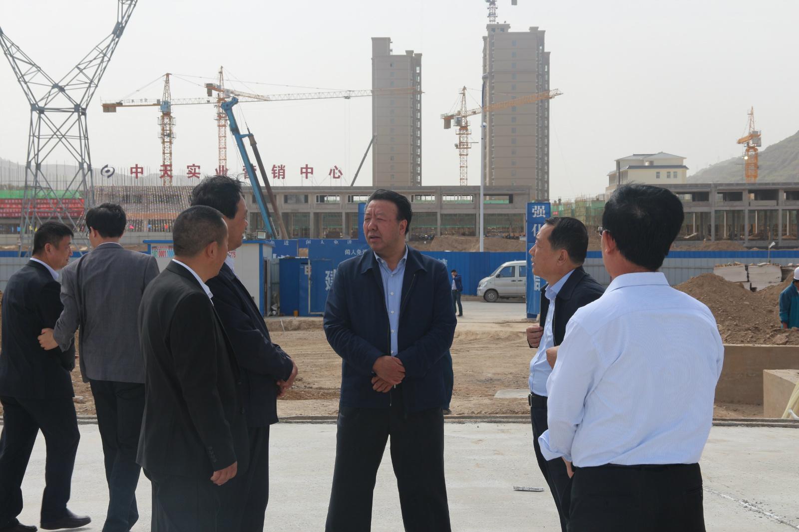 5月5日原副市长黄继宗一行视察工作