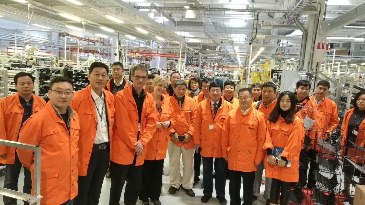 世界500强芬兰Kepper焊接公司参观学习
