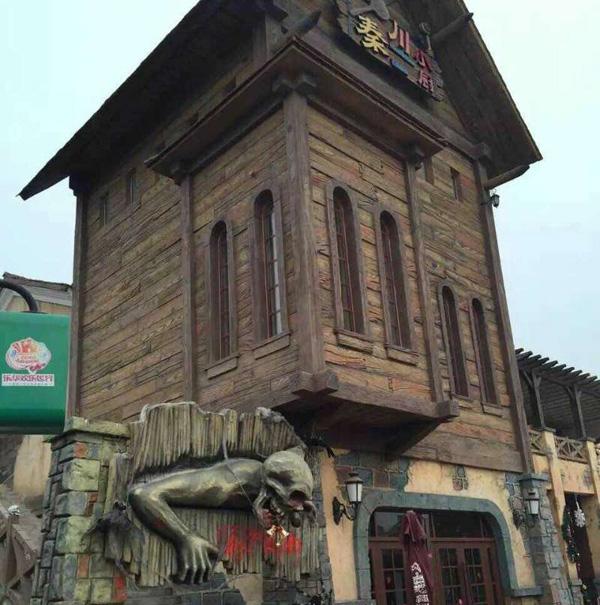 新疆和田旅游开发区仿真城堡1