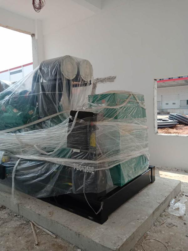 承接杭州京東柴油發電機項目