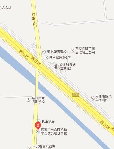 石家庄众源驾校地址