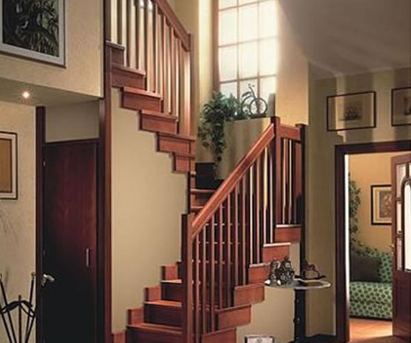 實木樓梯實景案例