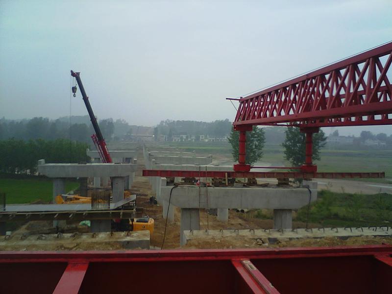 湖北谷竹高速02標路基工程、橋梁下部、箱梁預制