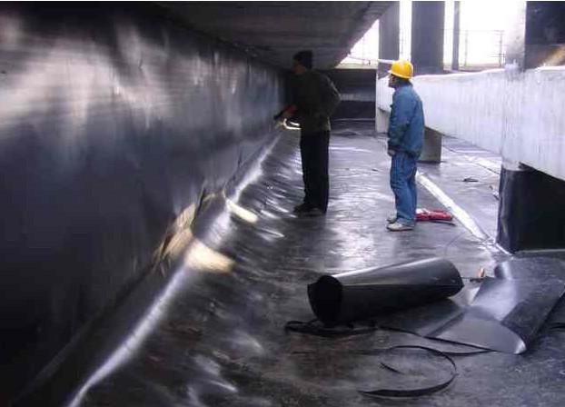 土工膜用于地下防渗工程