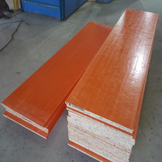 玻璃钢轻型木质复合建筑模板