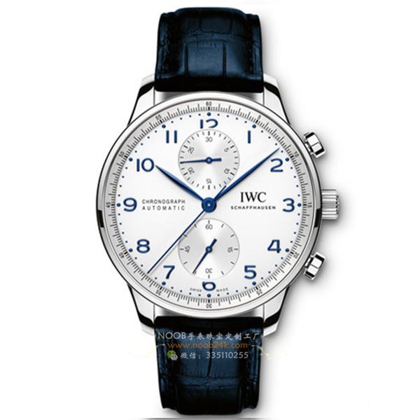 【ZF厂】万国葡萄牙计时系列IW371417蓝钉腕表男士瑞士手表