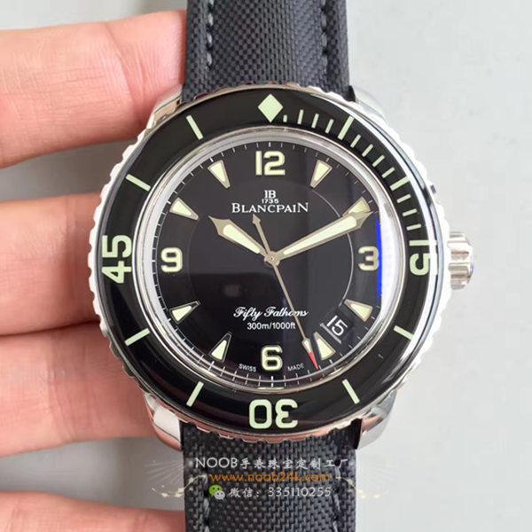 【ZF】宝珀运动系列五十寻噚型5015-1130-52自动机械防水腕表