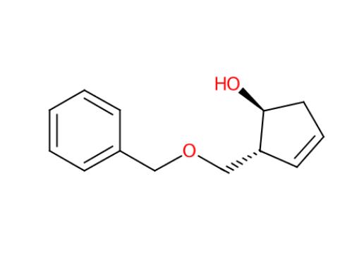 110567-21-0  (1S,2R)-2-(Benzyloxymethyl)-1-hydroxy-3-cyclopenten