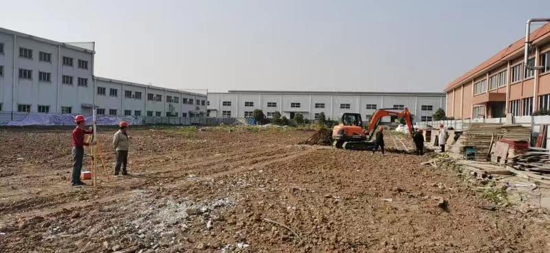 贵阳工厂二期厂房、宿舍、食堂正式开工建设