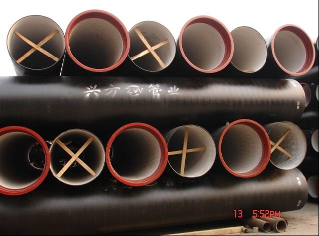 球墨铸铁管给水管道消毒注意事项