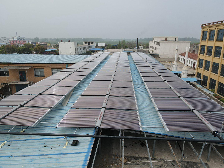 60吨太阳能热水工程
