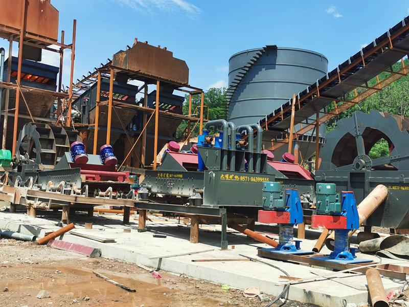 安徽廣德時產800噸純制砂項目
