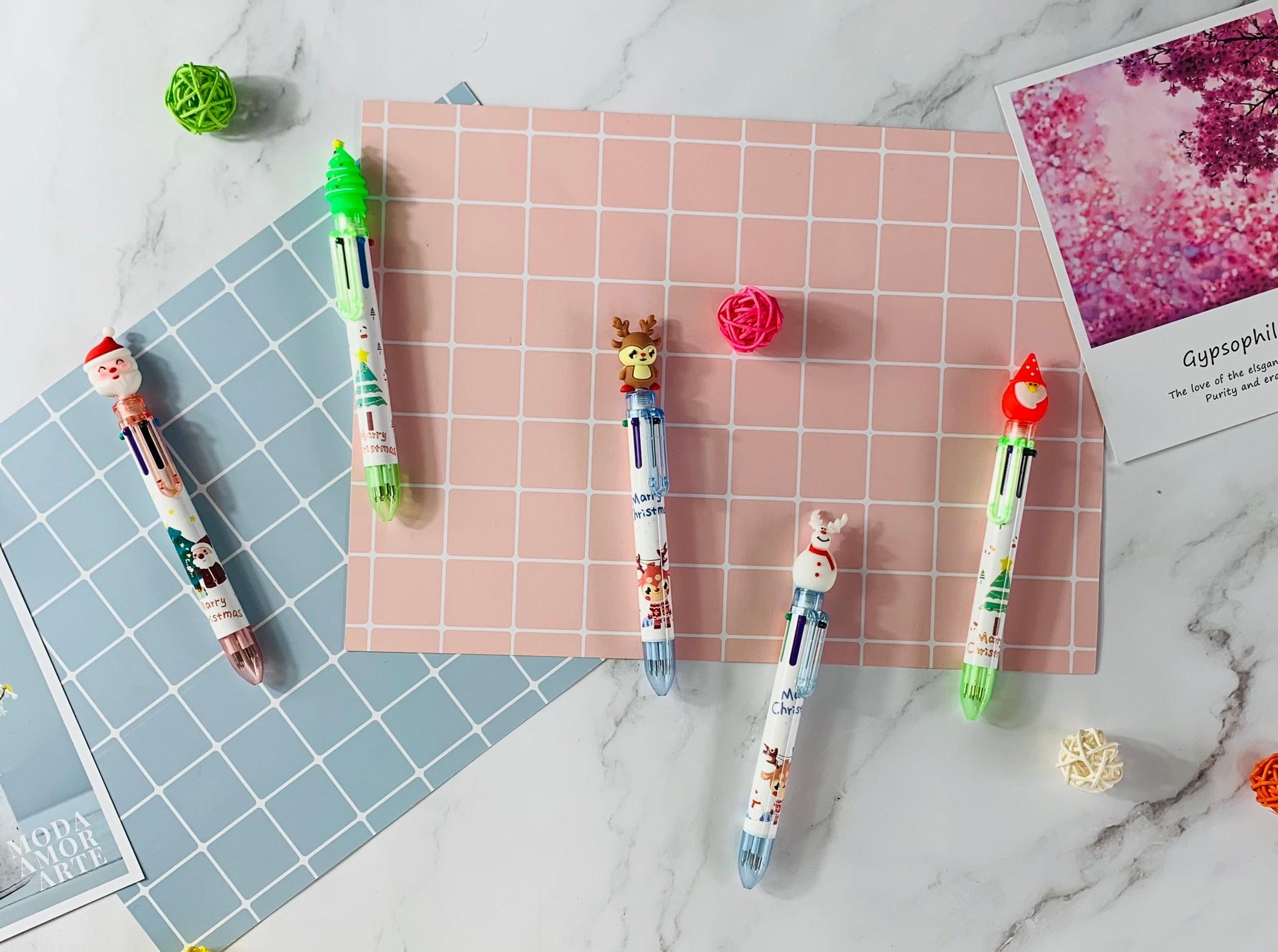 6色聖誕筆