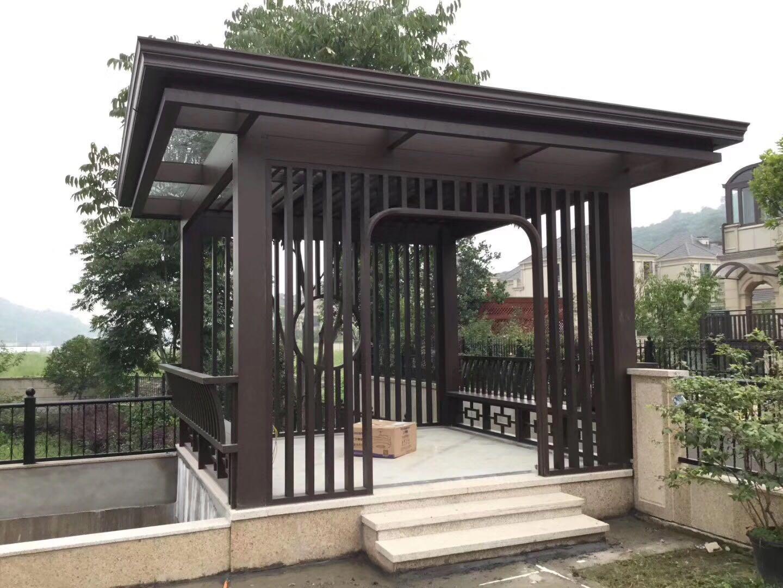 別墅庭院涼亭