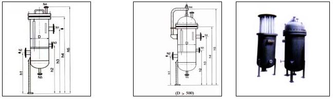 聚丙烯折叠精细过滤器结构图