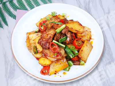 干鍋土豆片