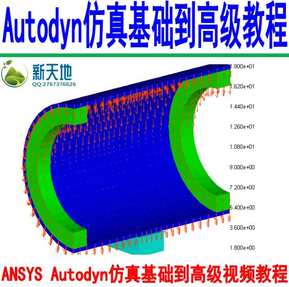 ANSYS Autodyn仿真基础到高级视频教程
