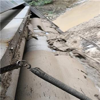 洗沙絮凝剂使用现场脱泥效果