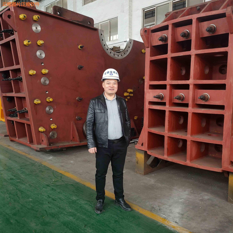 與浙江某知名破碎機企業共同打造骨料生產線