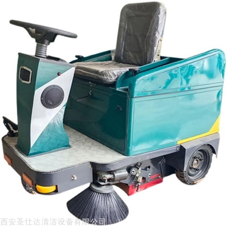 物流仓库清扫车,工厂车间吸尘扫地机,1050电动扫地车